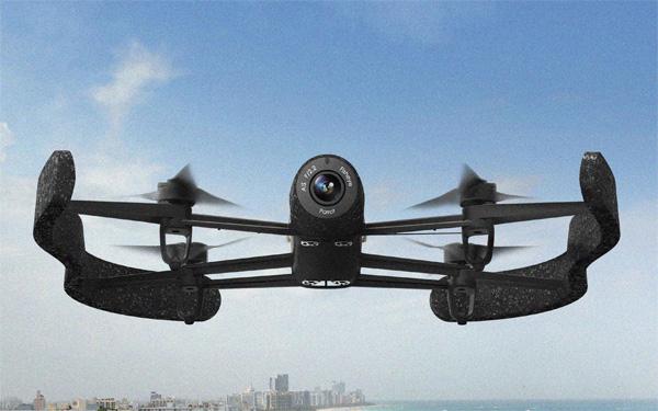Zijaanzicht Bebop Drone