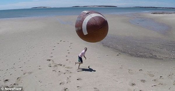 Drone rugbybal 1