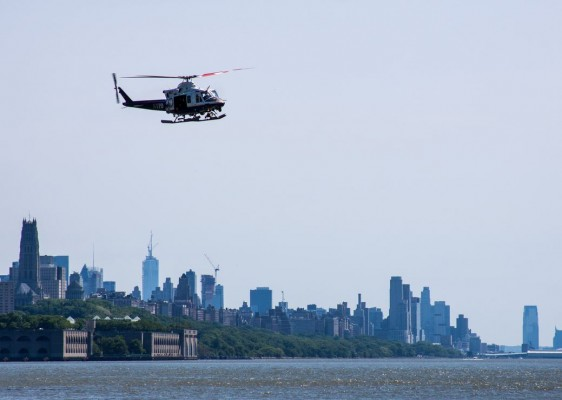 NYPD helikopter
