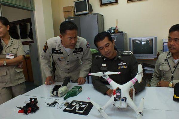 Drone met smokkelwaar onderschept in Thailand
