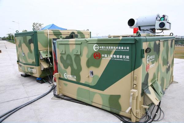 Het Chinese anti-drone laserwapen