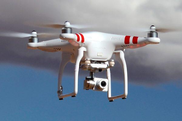 De DJI Phantom 2 Vision+, één van de meest populaire RTV FPV drones van dit moment