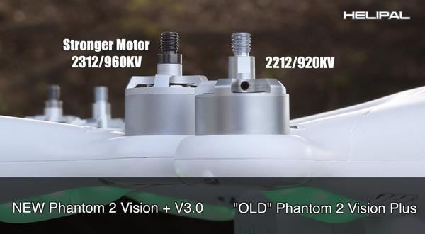 Motoren Phantom 2 Vision+ V3.0