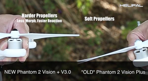 Nieuwe propellers Motoren Phantom 2 Vision+ V3.0