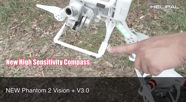 Verbeterd elektronisch kompas Motoren Phantom 2 Vision+ V3.0