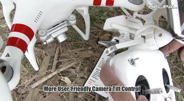 RC tilt control Motoren Phantom 2 Vision+ V3.0