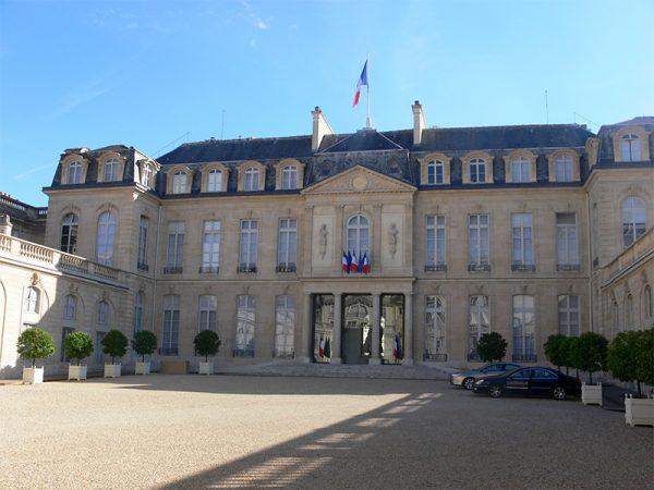 Het Élysée paleis. Bron: Wikimedia Commons