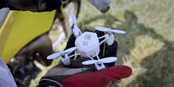 ZANO drone in hand
