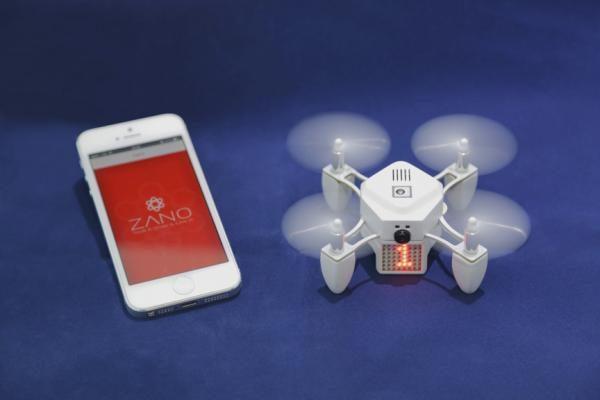 ZANO drone met smartphone