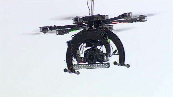 Drone verkeerspolitie