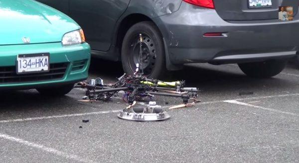 Schade veroorzaakt door een drone: wie is aansprakelijk?