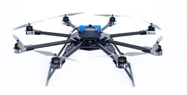 Een octocopter van ArchAerial