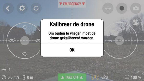 Bebop Drone - kalibratie