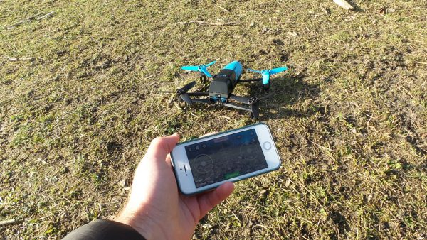 Bebop drone en Freeflight app