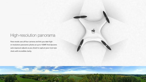 Apple Drone - panorama
