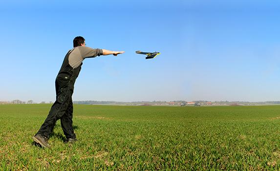 Drones gaan Nederlandse gewassen monitoren