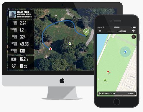 Flytrex Live 3G live vluchtdata