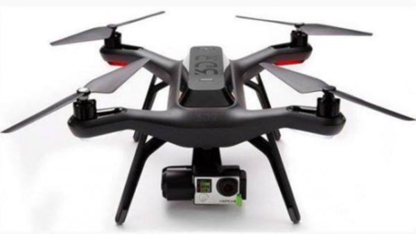 Gelekte foto Solo quadcopter