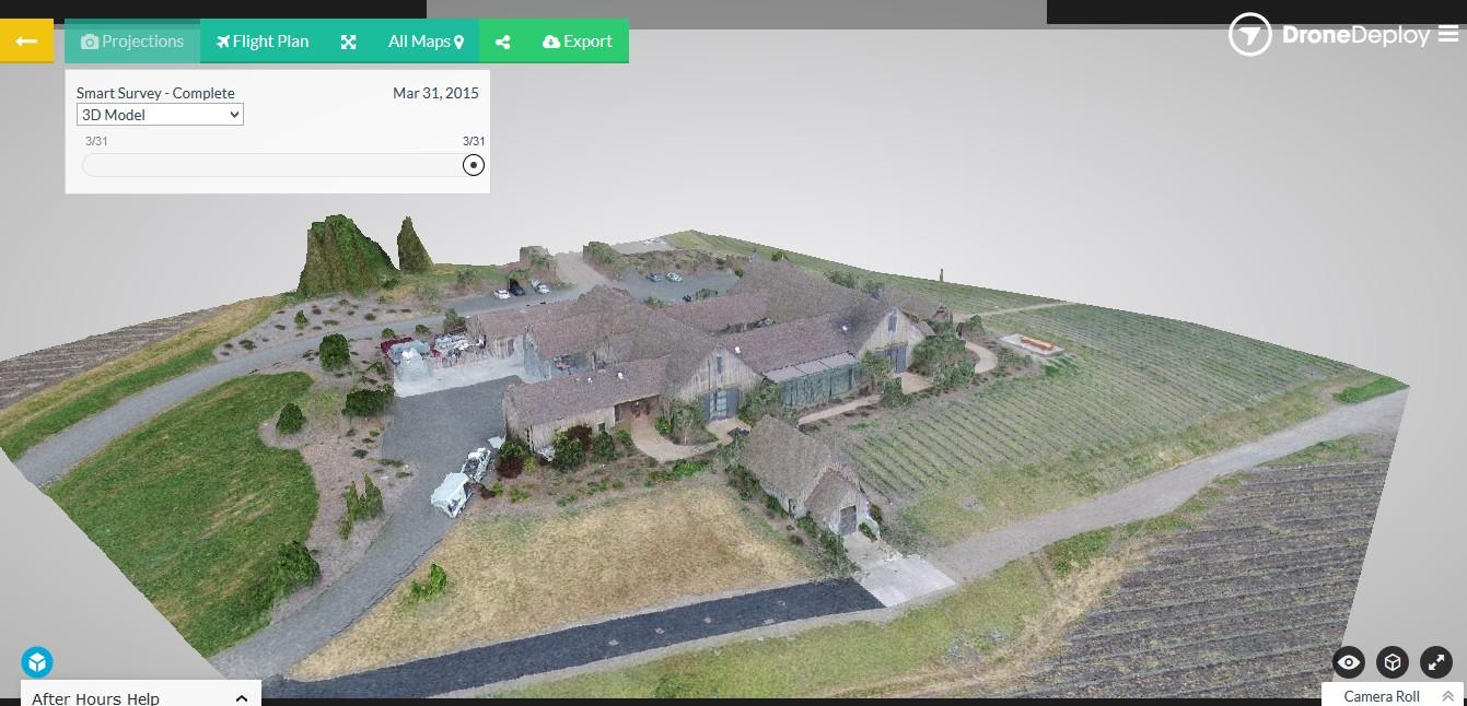 Zelf 3D kaarten van je omgeving maken dankzij samenwerking DJI en DroneDeploy