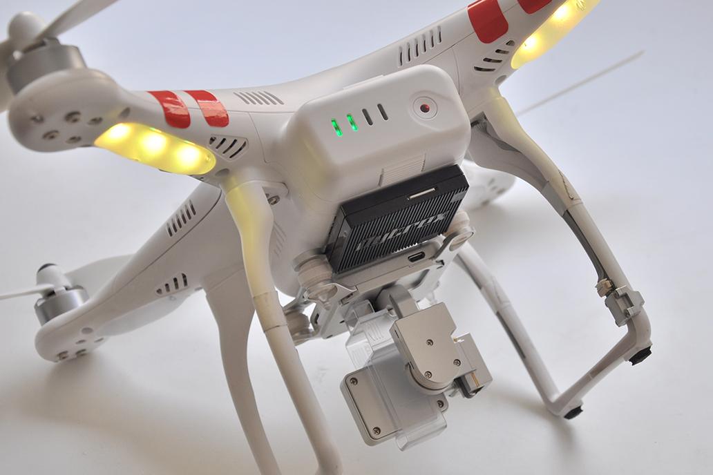 Flytrex Live 3G: een zwarte doos voor drones