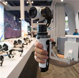 Inspire 1 handheld camera mount