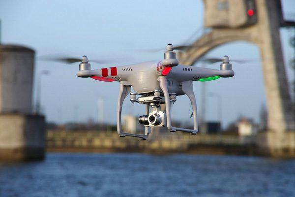 Een DJI Phantom, voor veel mensen inmiddels synoniem voor 'drone'
