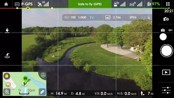 DJI Pilot app screenshot