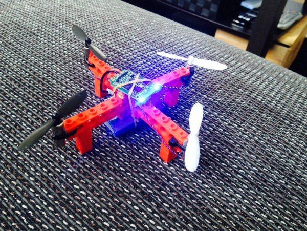 LEGO DIY drone Weseley