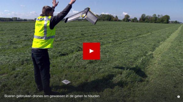 NOS item over agrarische drones