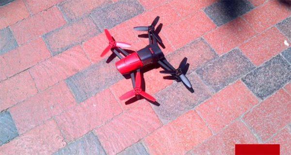 Parrot Bebop drone bij Witte Huis