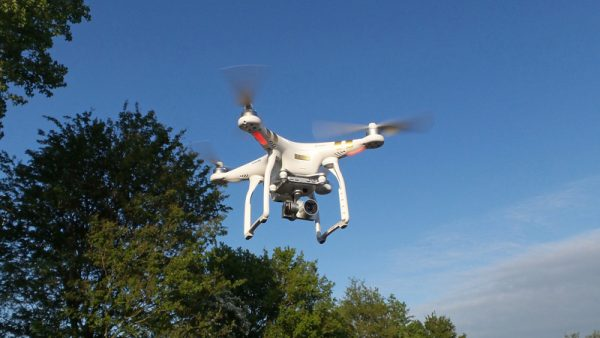 DJI Phantom 3 Professional in actie