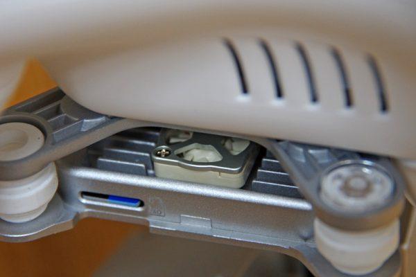 Phantom 3 gimbal ventilator