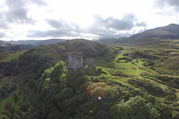 Ruine kasteel Wales. Foto: Wiebe de Jager