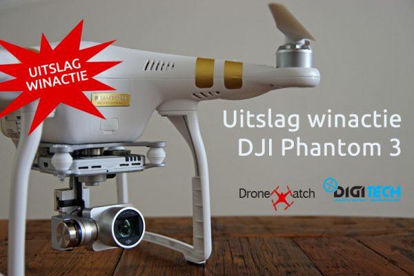 Uitslag DJI Phantom 3 winactie