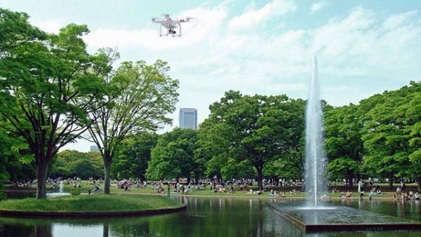 Yoyogipark is het grootste park in Tokyo. CC-BY Shinjiro