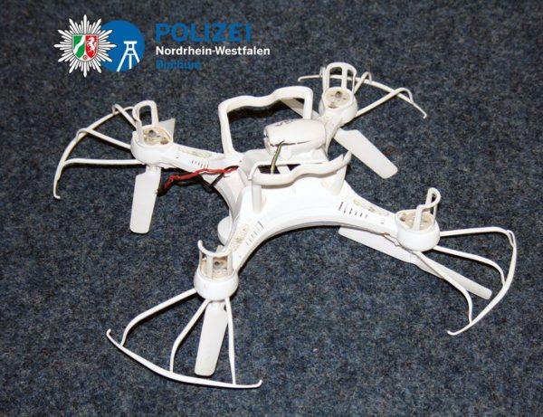 Duitse drone betrokken bij ongeluk