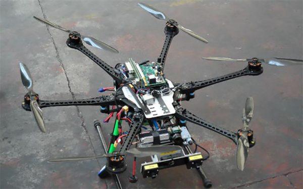 RAFAGA drone