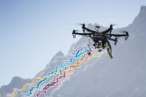 Straalkanon drone