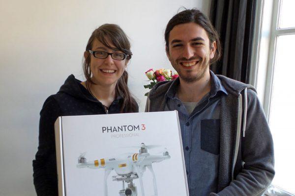De winnaars van de Phantom 3 winactie