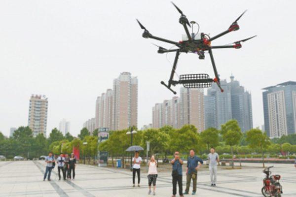 Anti-spiek drone