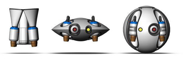 Drie uitvoeringen van de JetQuad