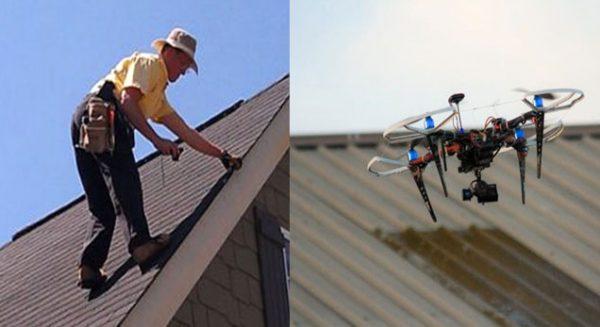 Drone dakinspectie