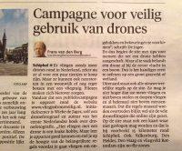 Vlieg je drone veilig krantenartikel