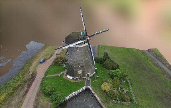 3D model windmolen