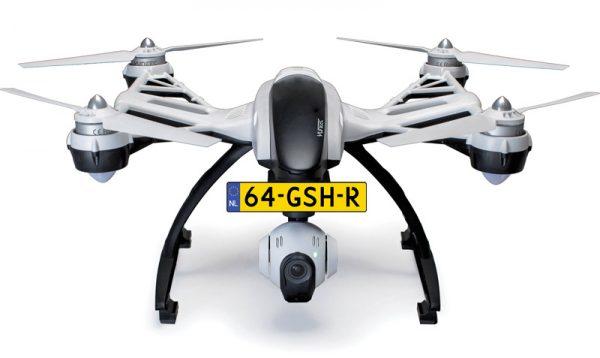 Drone kenteken
