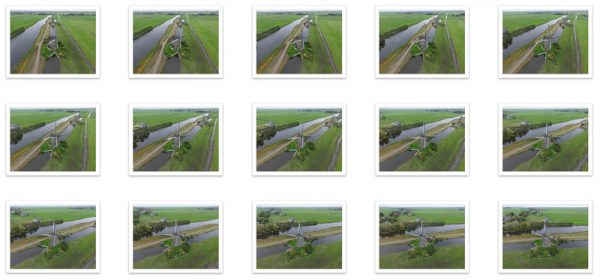 Bronfoto's 3D model Hollandse windmolen