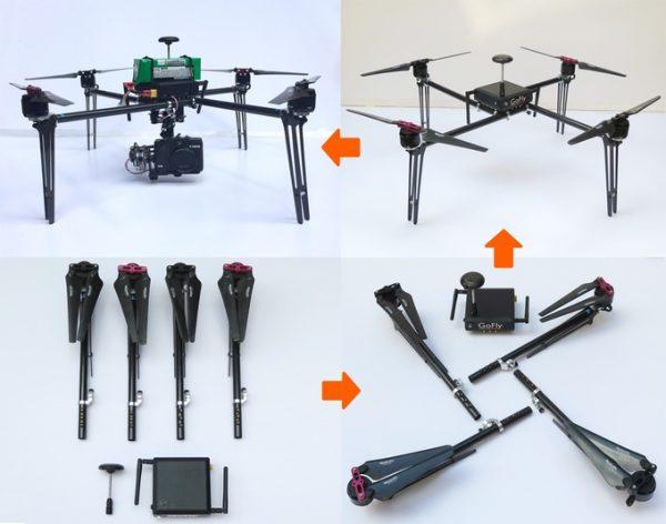 Easy Drone XL Pro - gedemonteerd