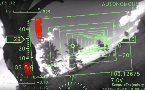 CSAIL drone met uitwijksysteem