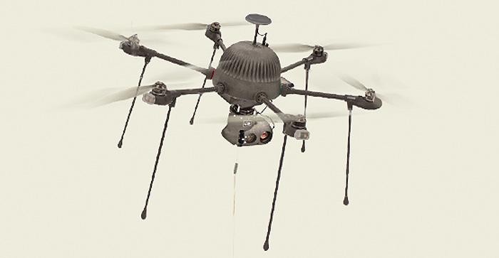 Surveillance-drone PARC van CyPhy Works