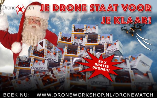Boek een droneworkshop en ontvang een gratis mini-drone